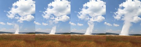 the faithful: Old Faithful, Yellowstone