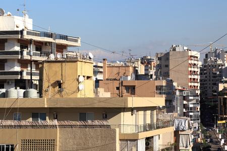 beirut: Beirut Cityscape Stock Photo