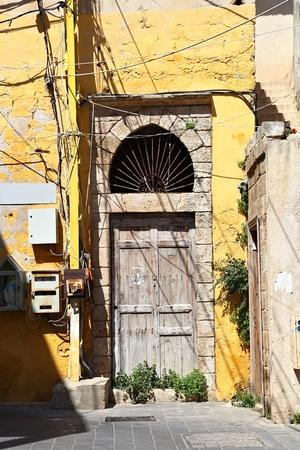 lebanon: Old Door, Lebanon Stock Photo