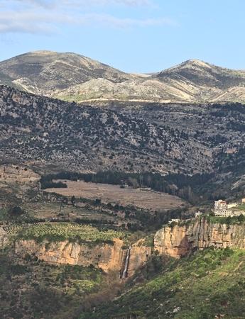 lebanon: The Lebanon Mountains Stock Photo