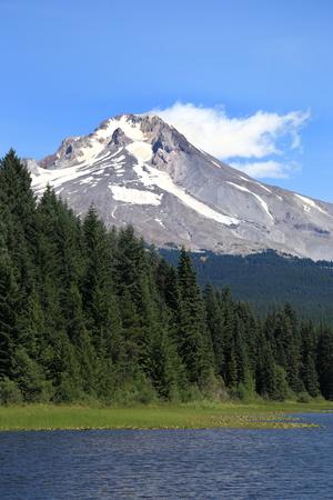 trillium lake: Mt. Hood, Oregon