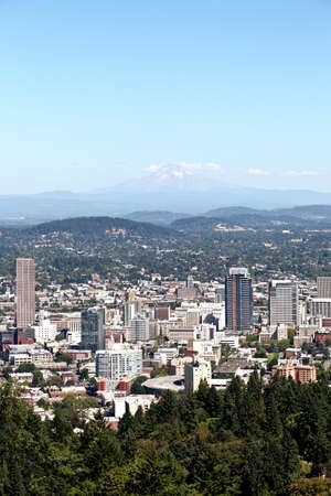 Downtown Portland, Oregon Stock Photo