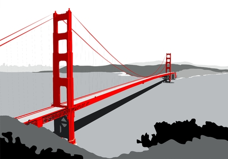Golden Gate Bridge Standard-Bild - 50640454