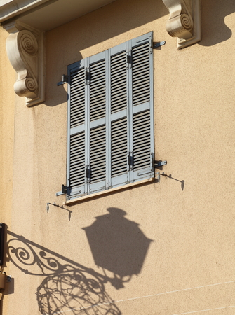 beirut: Beirut Architectural Details: old style shutter windows