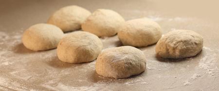 dough: El aumento de la masa
