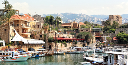 Byblos town and Harbor