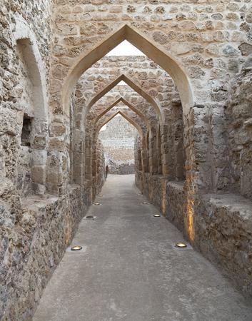 bahrain: Archeological remains of Bahrain Fort, Manama