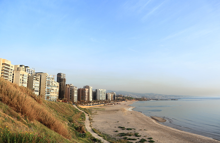 lebanon beach: Ramlet el Baida Beach, Beirut - Lebanon
