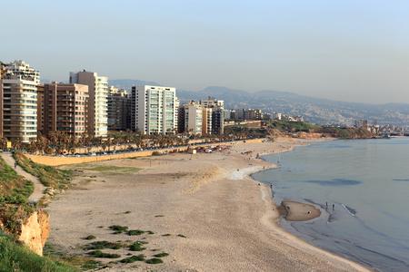 lebanon beach: Beirut at Ramlet el Baida Beach