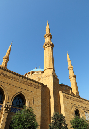 amine: The Al Amine Mosque, Downtown Beirut