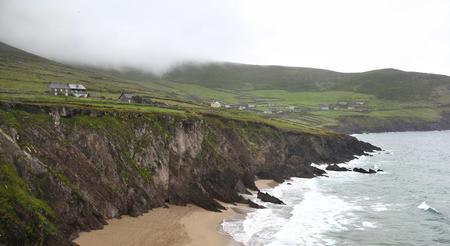 Coumeenoole Beach, Slea head - Ireland Stock Photo