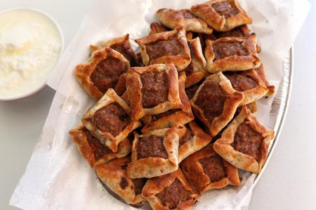 Lebanon cuisine: Sfeeha (open meat pies)