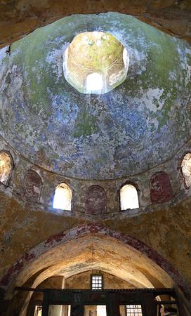 Ceiling of ancient public baths, Tripoli, Lebanon