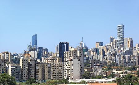 Beirut skyline, Lebanon