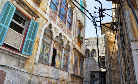 The streets of old Tripoli, Lebanon