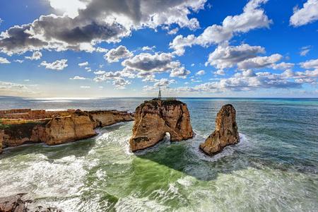 Pigeon Rocks, Beyrouth - Liban