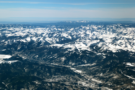 The San Juan Mountains in the Colorado Rockies Stock Photo