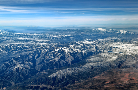 Mountain Landscape Aerial View