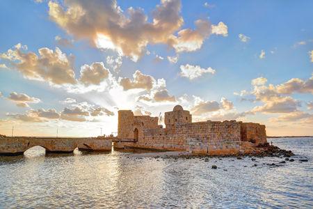 Sidon Sea Castle, Lebanon