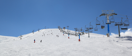 Lebanon winter ski season Kfardibian