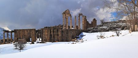 Faqra Roman Ruins in Lebanon