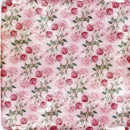 claret: Claret rose vintage paper Stock Photo