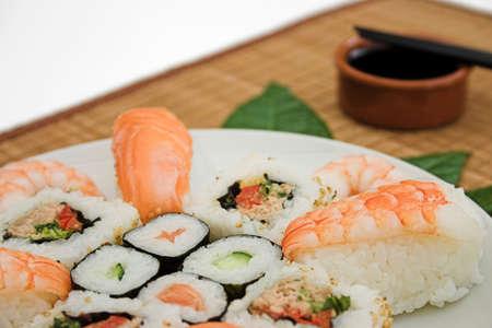 soysauce: Sushi close up...