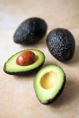 cropping: Avocados sliced & whole ready for the chef - left full size to enable cropping if desired - shallow dof