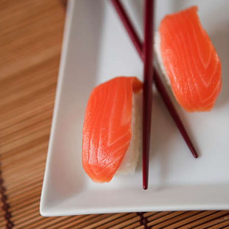soysauce: Sushi & chopsticks - shallow dof