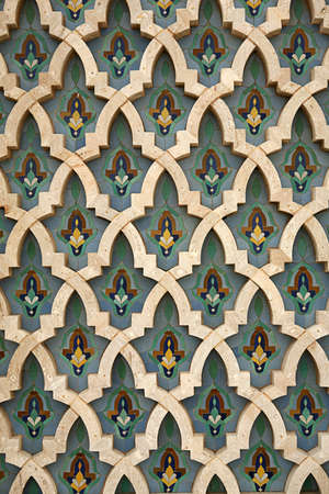 Detail shot of Moroccan tile work - almost a seamless image