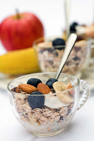 Healthy Breakfast Standard-Bild