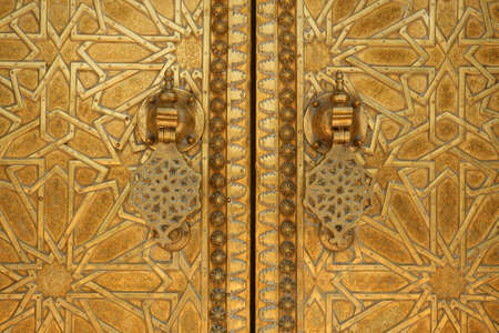 Moroccan doorway detail photo