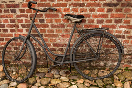 rustiness: Old bicycle Stock Photo
