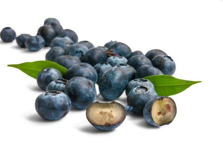 whortleberry: Blueberry Stock Photo