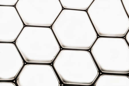 whote: A nice black grid isolated over a whote background