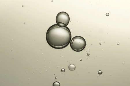 Champagne bubbles Standard-Bild