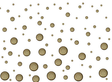 creativ: A nice bubble pattern with light and dark grey bubbles Stock Photo