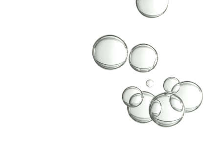 A group of wgite light globes over a white background.. Imagens - 99050015