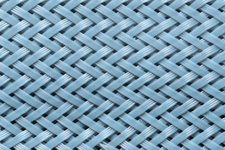 A braided light gray blue pattern.