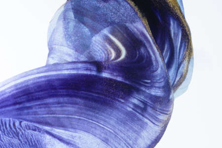 A purple and white abstract pattern with some gold dust