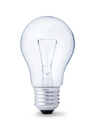 lightbulb, isolated on white