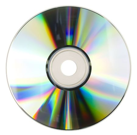 compact disc in soft light Stock Photo