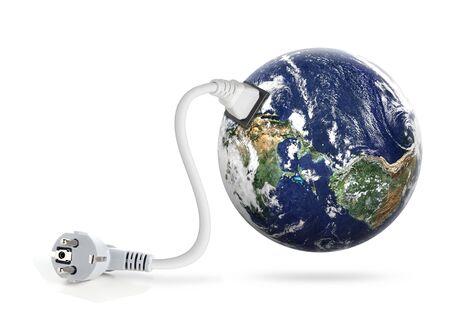 earth and power plug