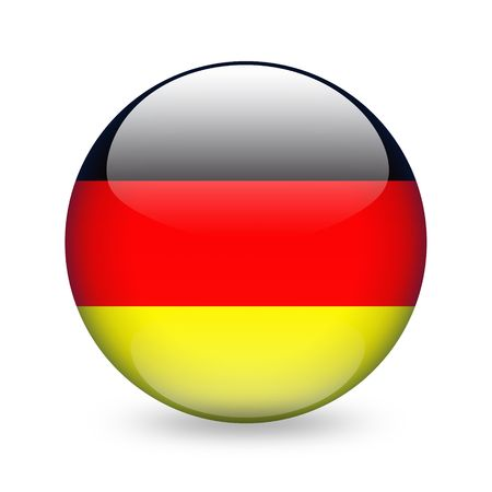 germany flag: german flag button