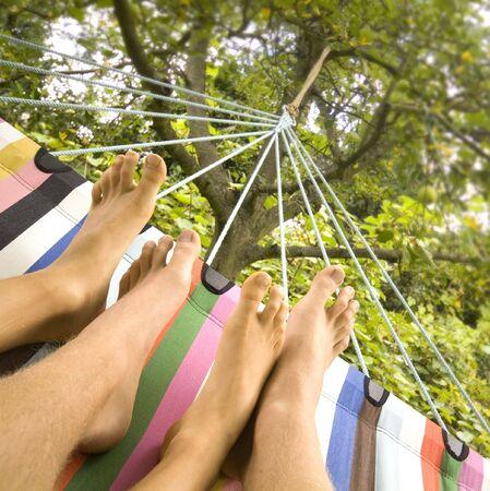 couple in hammok