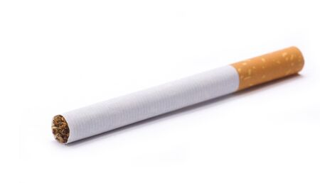 cigarette isolated on white Stock Photo