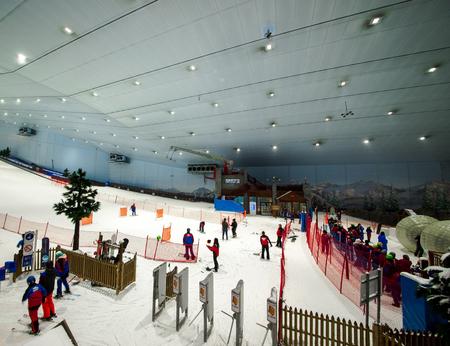 Snow, snowman, skiing, snowboarding, rides - Enjoy snow in the desert at Ski Dubai in United Arab Emirates