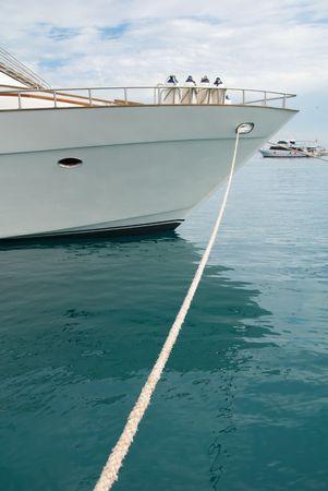 docked: Boat Docked near Pier