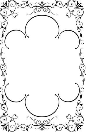 vector banners or headers: Royal Ornate Frame