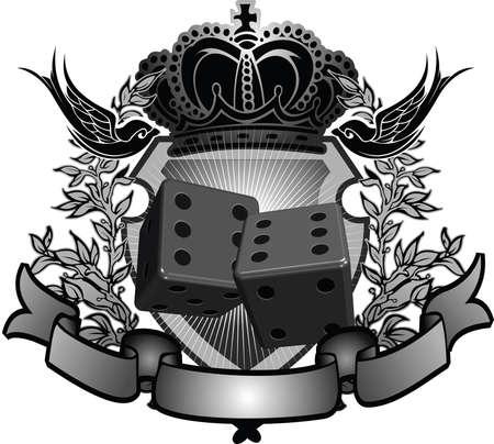 gambler: Gambler Sign Illustration